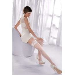 Белые чулки Princessa 05