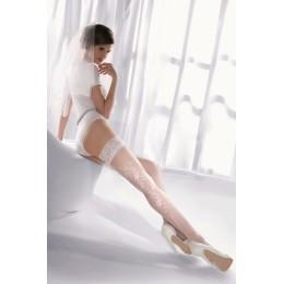 Белые чулки Princessa 06