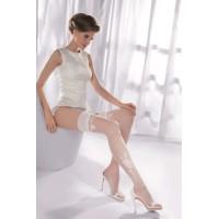 Princessa 09, белые чулки