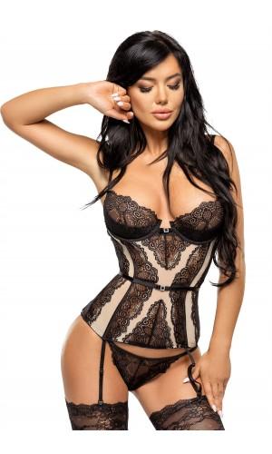 Ravenna corset Beige