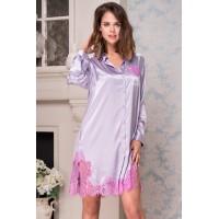 Bella 3377 лаванда, рубашка
