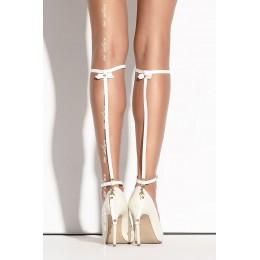 Украшение на ногу SO 01 white