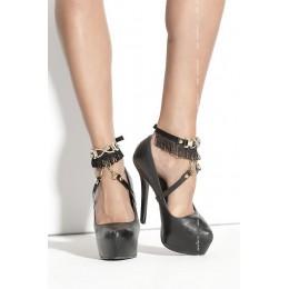 Украшение на ногу SO 02 black