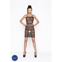 Платье сетка BS033 black